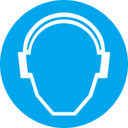 Būtina naudoti ausines