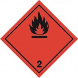 2 klasė -  Liepsniosios dujos