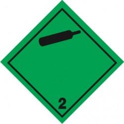 2 klasė -  Neliepsnios, netoksiškos dujos