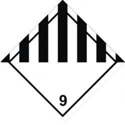 9 klasė -  Pavojingos medžiagos ir gaminiai