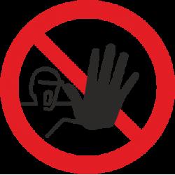 Pašaliniams įeiti draudžiama