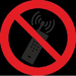 Draudžiama naudotis telefonais