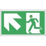 Išėjimas viršun į kairę