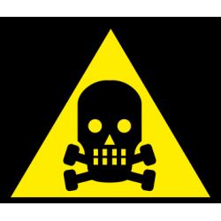 Atsargiai! Toksinės medžiagos