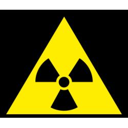 Atsargiai! Radioaktyvios medžiagos