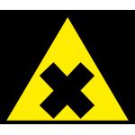 Atsargiai! Erzinančios arba nuodingos medžiagos