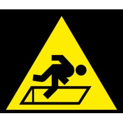 Atsargiai! Angos grindyse